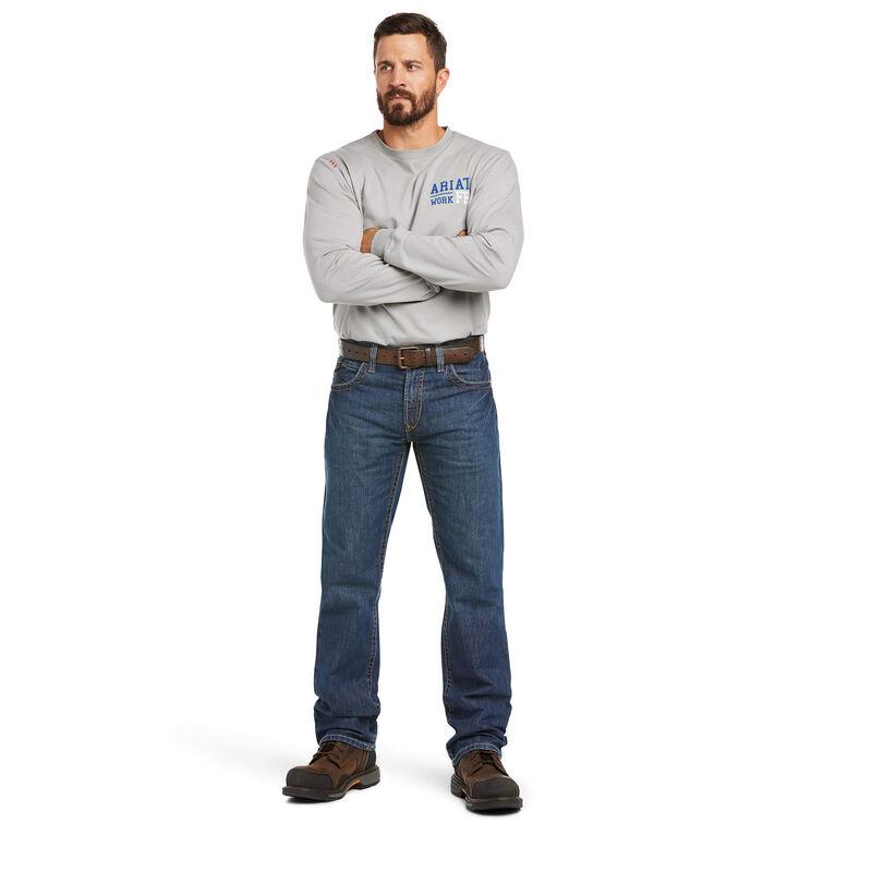 Fr M5 Slim Basic Stackable Straight Leg Jean Ariat