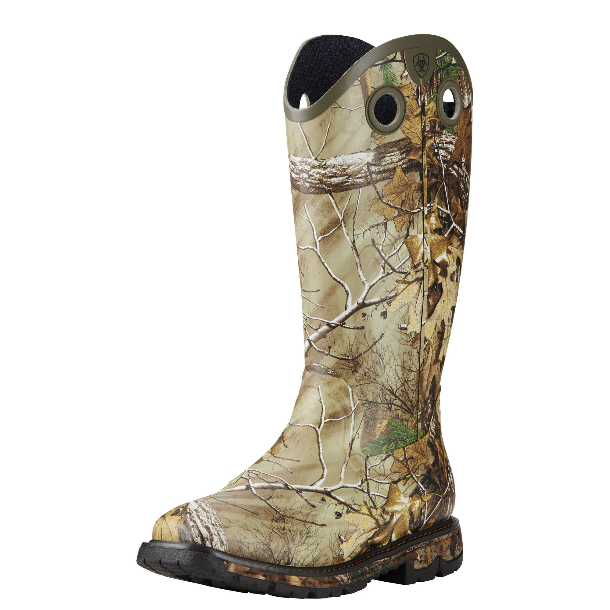 Conquest Buckaroo Waterproof Square Toe Rubber Boot