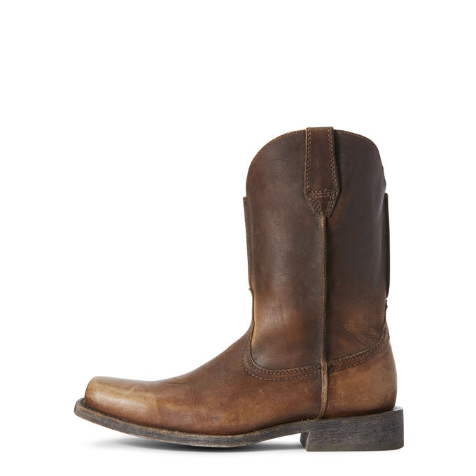 Rambler Leather Sole Western Boot