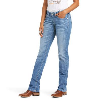 R.E.A.L. Mid Rise Charlotte Straight Jean