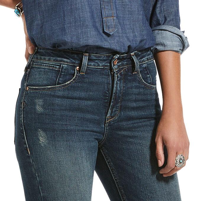 Premium High Rise Flare Jean