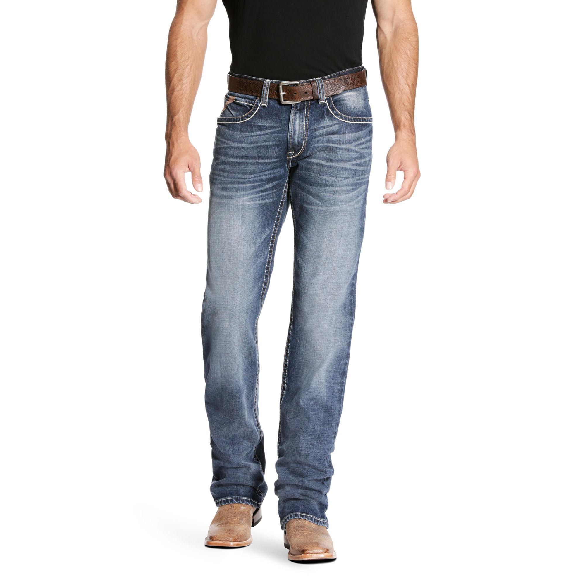 M4 Low Rise Preston Stretch Boot Cut Jean