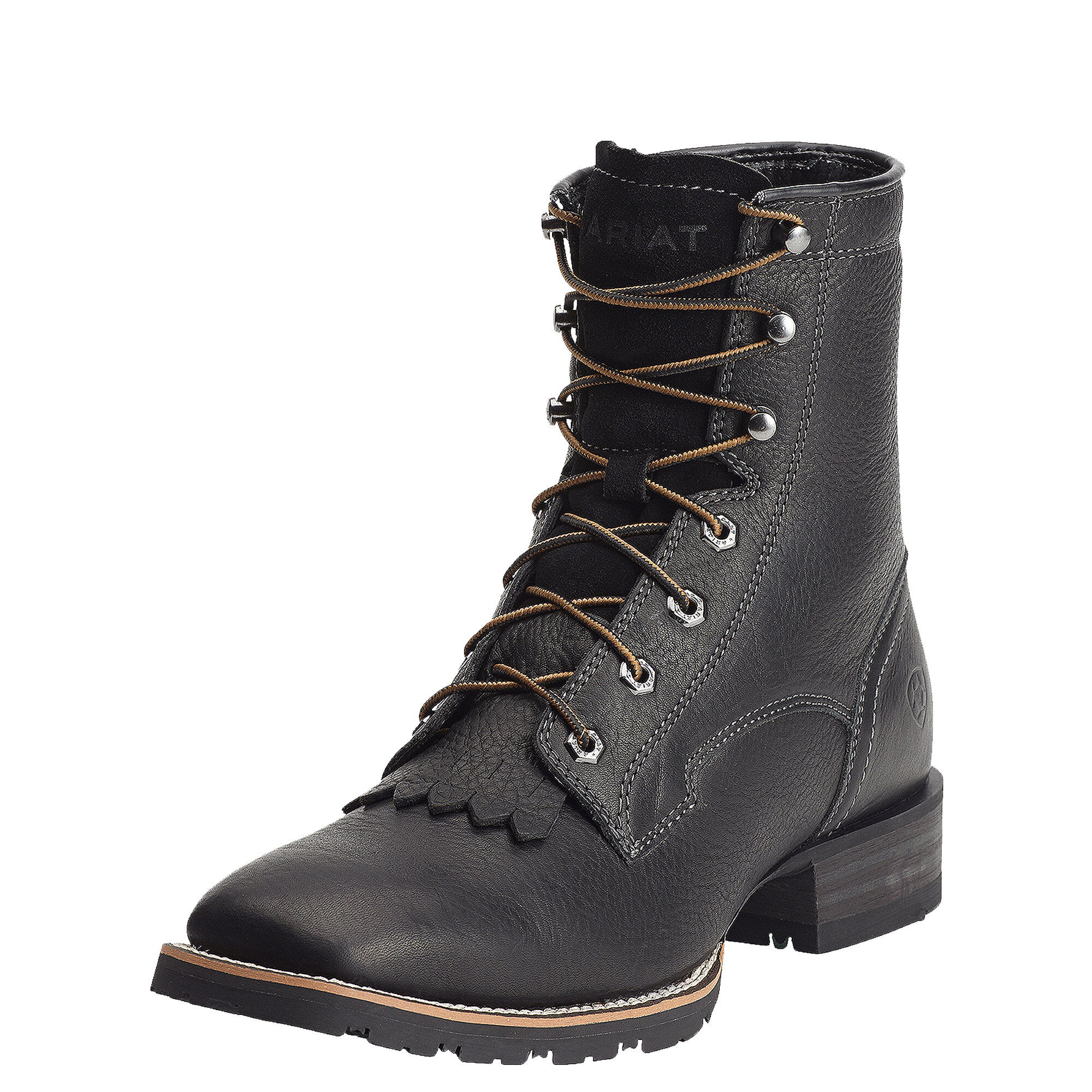 Hybrid Lacer Wide Square Toe Boot