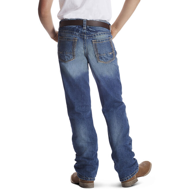 B4 Relaxed Boundary Boot Cut Jean