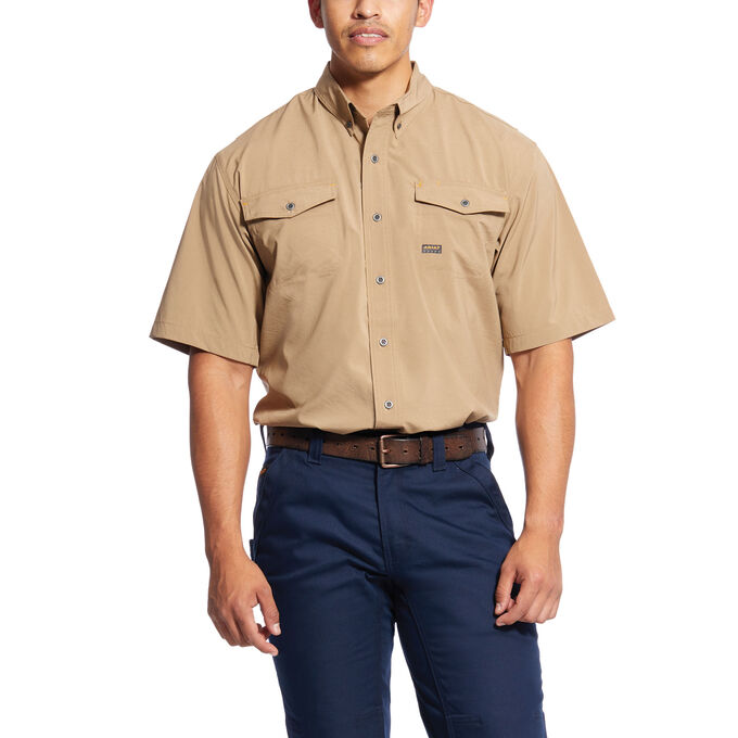 Rebar Made Tough VentTek DuraStretch Work Shirt