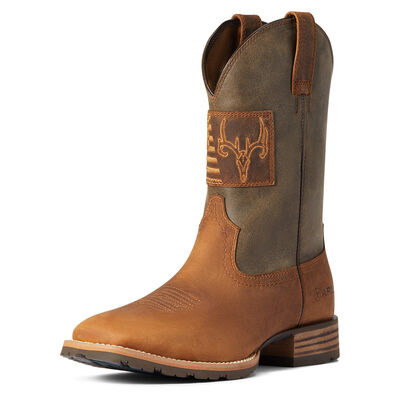 Hybrid Patriot Country Western Boot