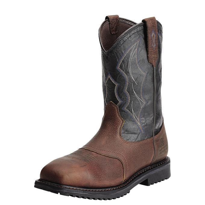 RigTek Wide Square Toe Waterproof Composite Toe Work Boot