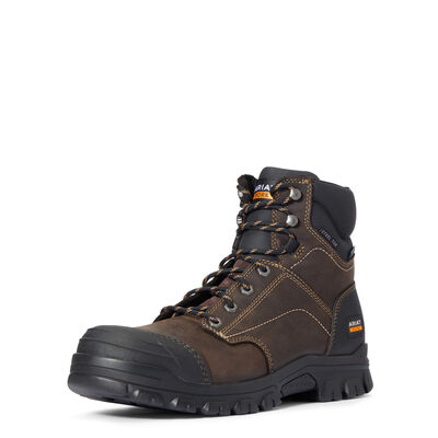 "Treadfast 6"" Waterproof Steel Toe Work Boot"
