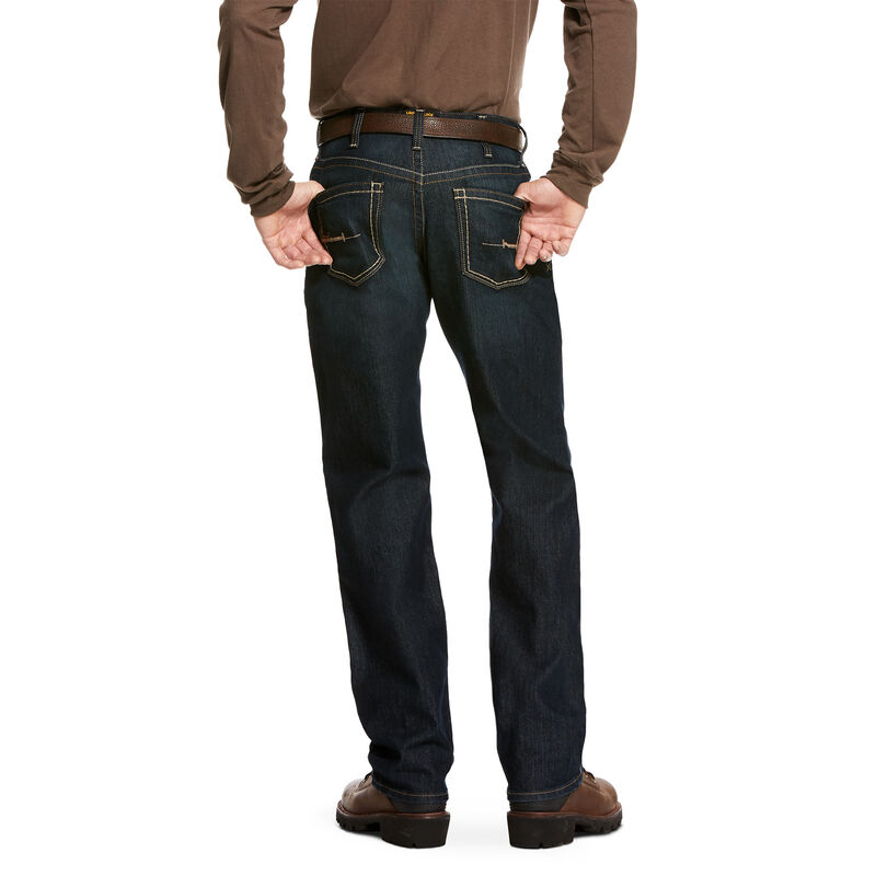 Rebar M4 Low Rise DuraStretch Edge Stackable Straight Leg Jean