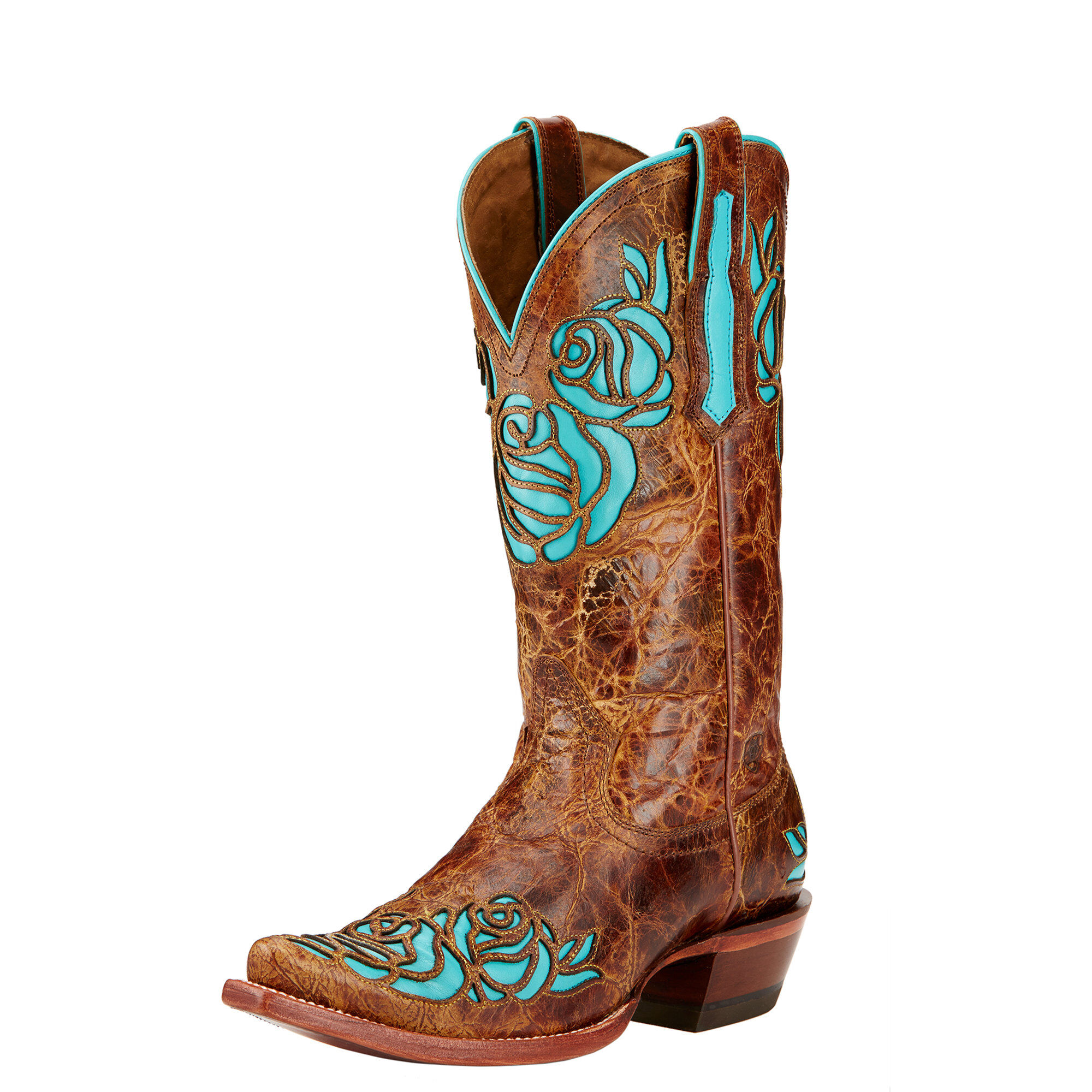 Ats On Demand >> Dusty Rose X Toe Western Boot