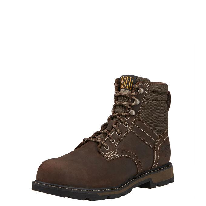 "Groundbreaker 6"" Waterproof Steel Toe Work Boot"