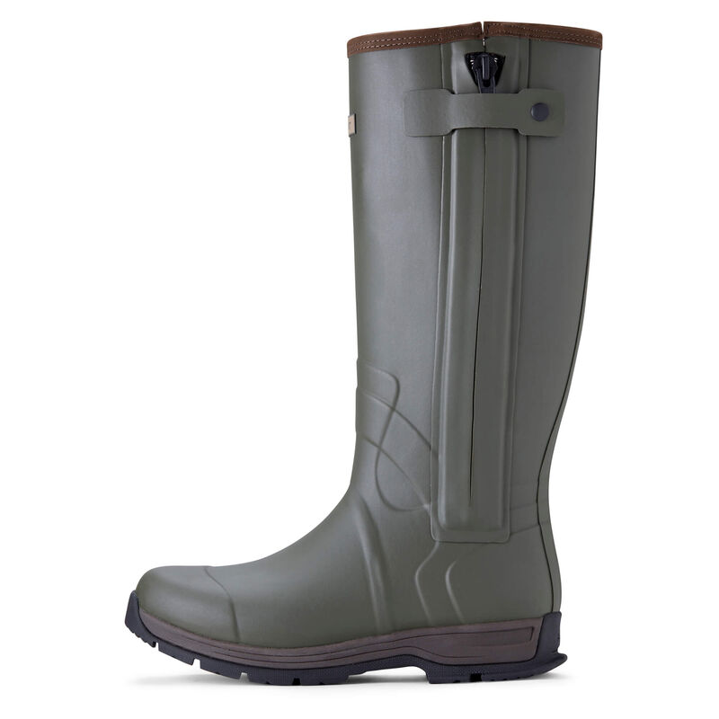 Burford Insulated Zip Rubber Boot