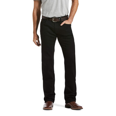 M5 Slim Stretch Legacy Black Stackable Straight Leg Jean