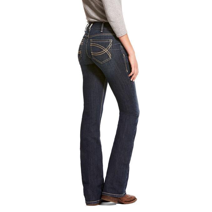 R.E.A.L. Mid Rise Stretch Shayla Boot Cut Jean