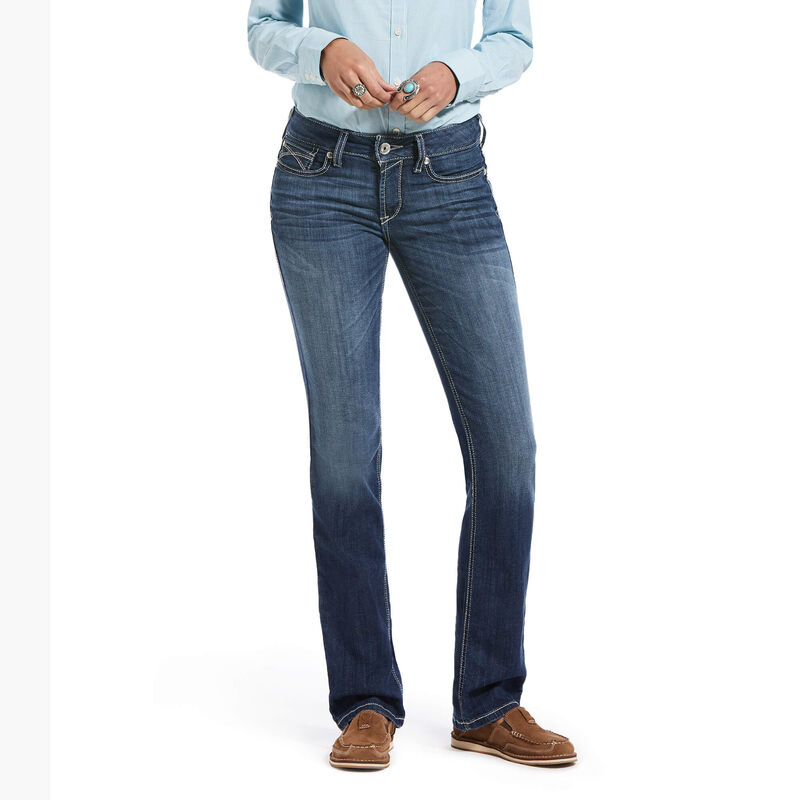 R.E.A.L. Perfect Rise Stretch Skyway Stackable Straight Leg Jean