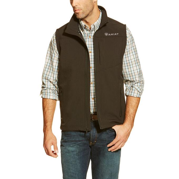 Vernon Softshell Logo Vest
