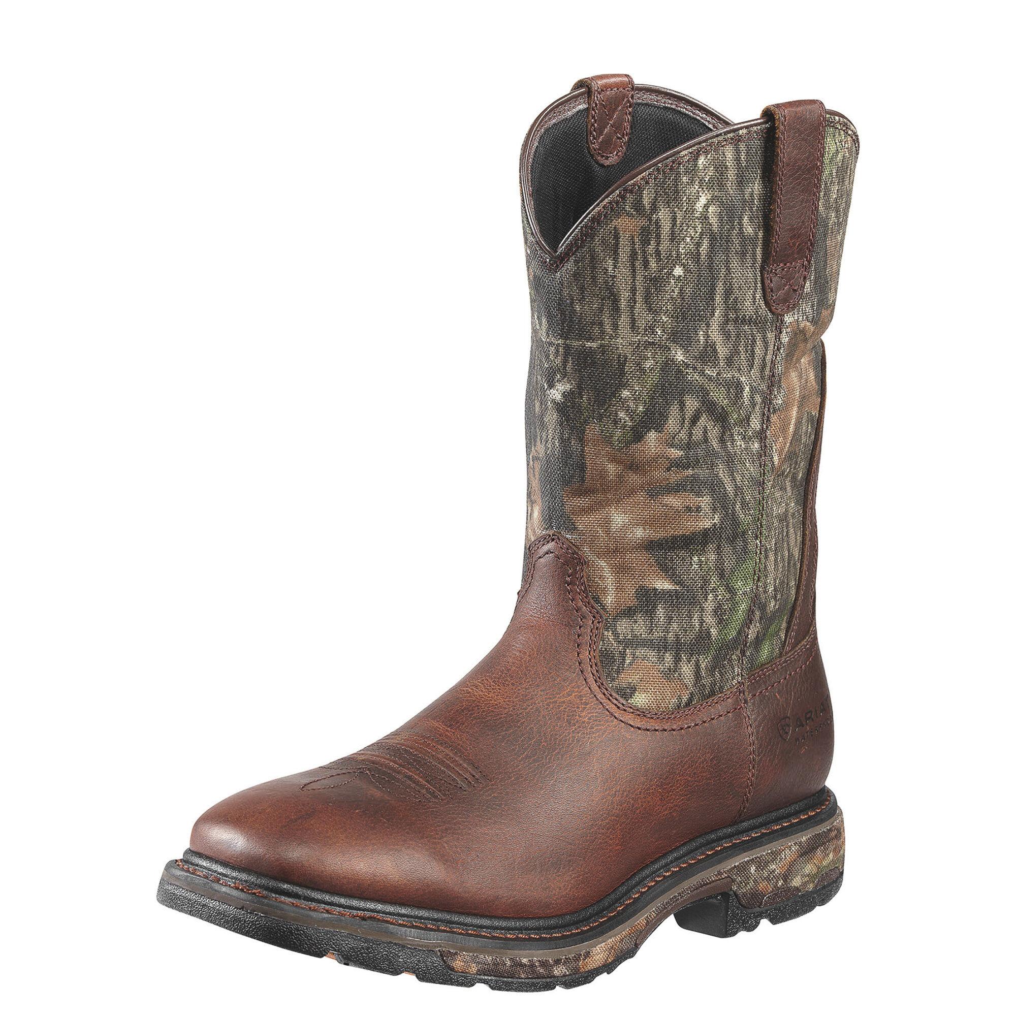 b55f1cc23ef WorkHog Wide Square Toe Waterproof Steel Toe Work Boot