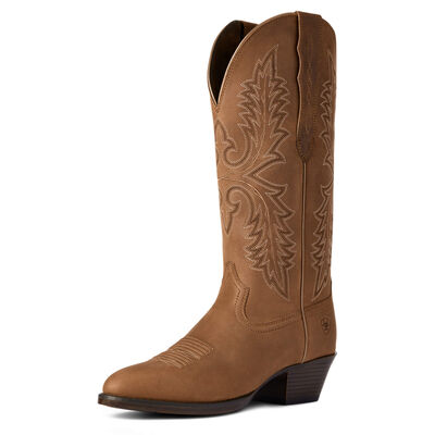 Heritage Elastic Wide Calf Western Boot