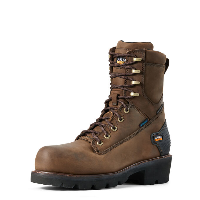 "Powerline 8"" Waterproof Composite Toe Work Boot"