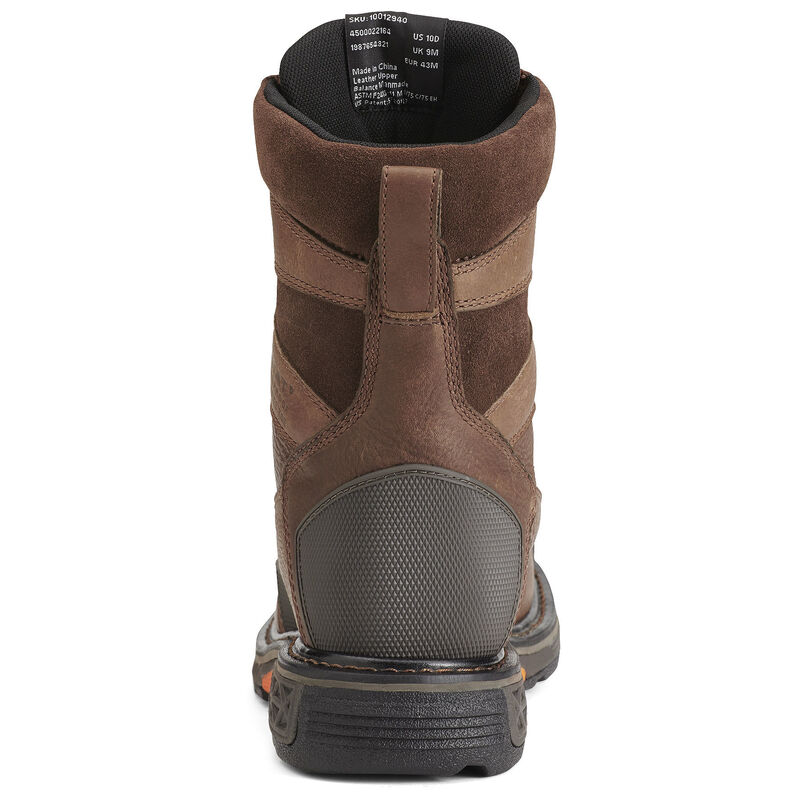 """OverDrive 8"""" Wide Square Toe Waterproof Composite Toe Work Boot"""