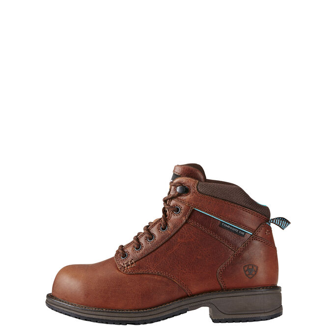 Casual Work Mid Lace ESD Composite Toe Work Boot