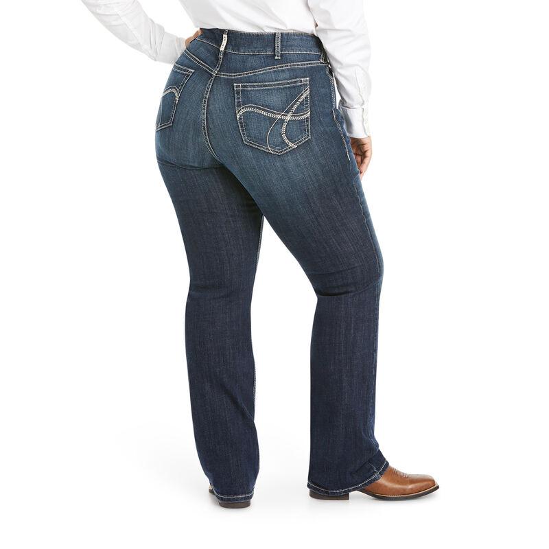 R.E.A.L Arrow Mid Rise Esther Boot Jean