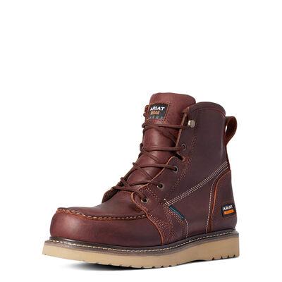"Rebar Wedge Moc Toe 6"" Waterproof Work Boot"