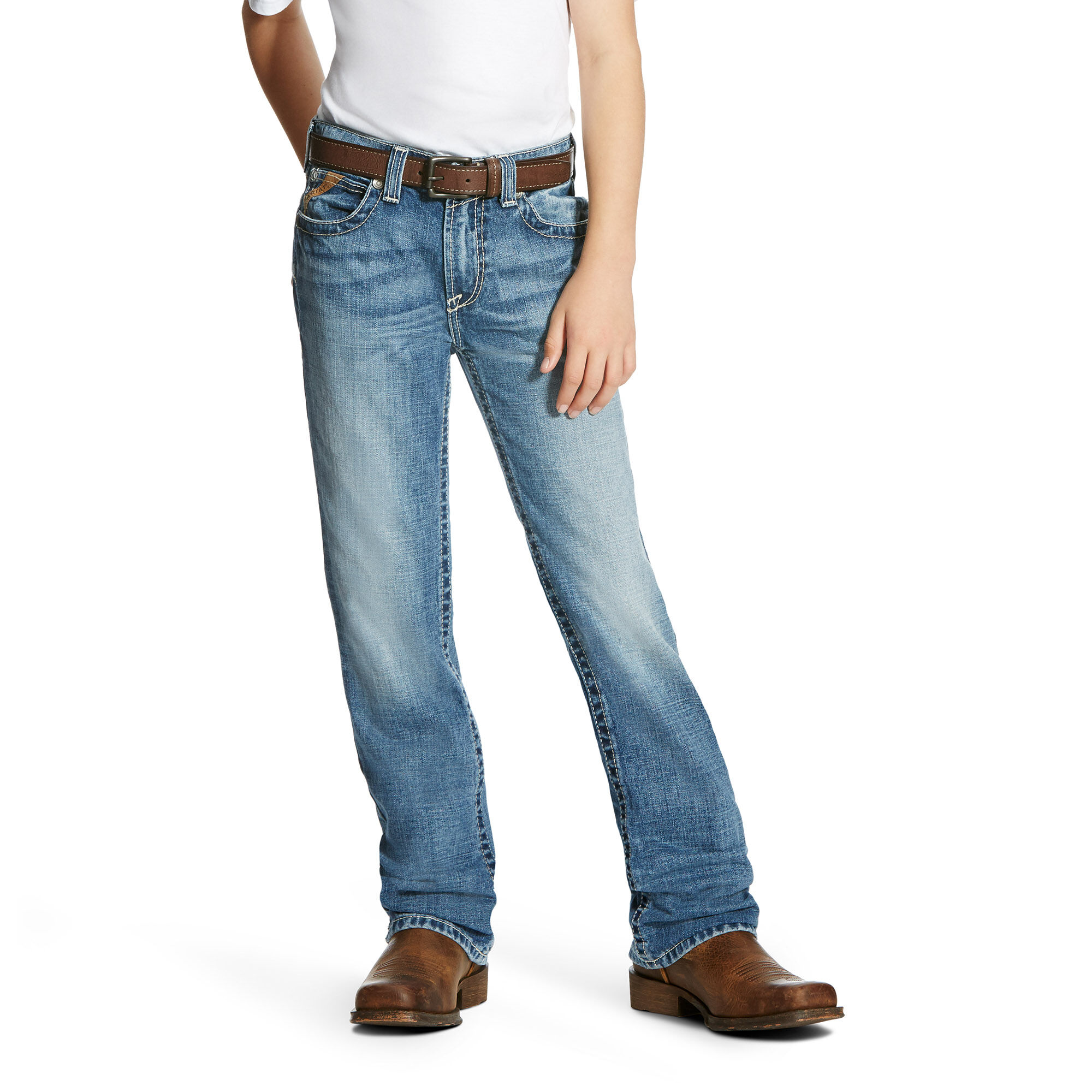 B4 Relaxed Bonner Boot Cut Jean