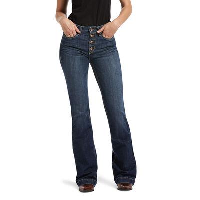 Slim Trouser Madelyn Wide Leg Jean