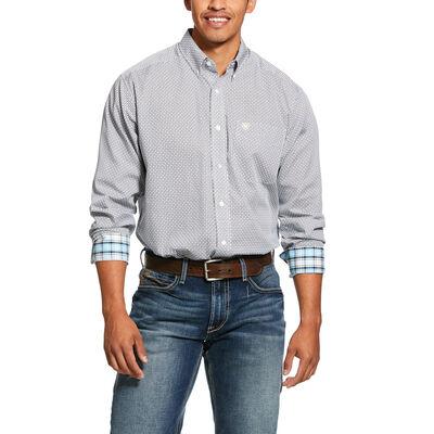 Wrinkle Free Memphis Print Classic Fit Shirt