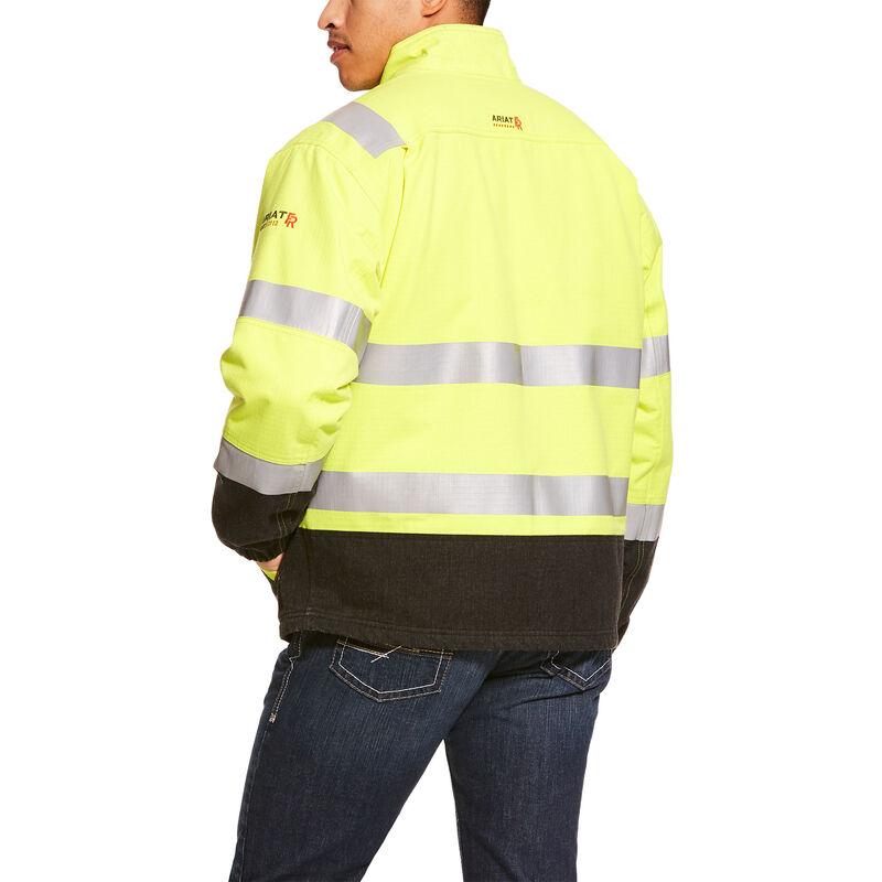FR Hi-Vis Waterproof Insulated Jacket