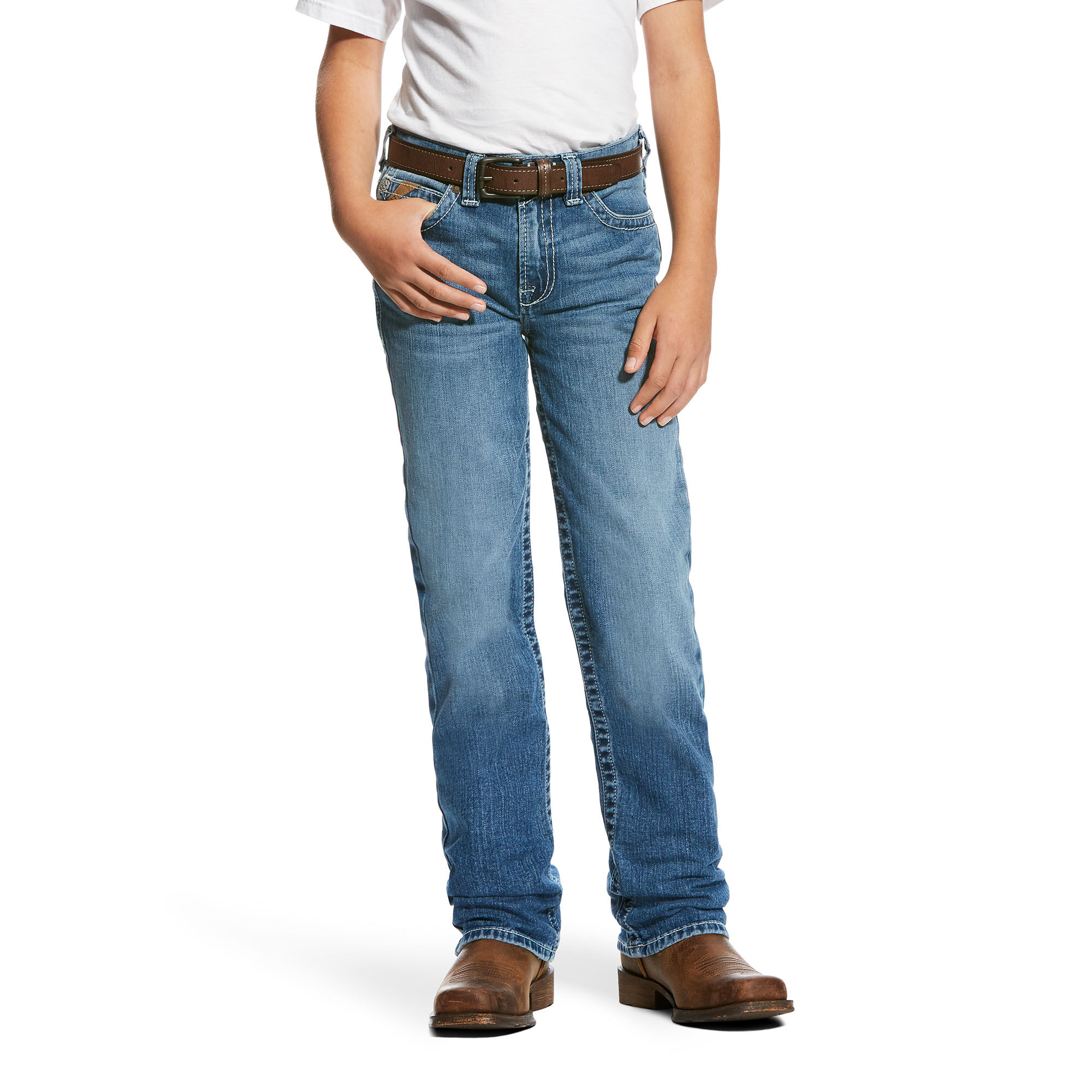 B4 Relaxed Lodi Stretch Boot Cut Jean