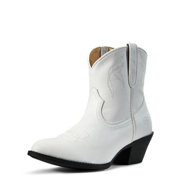 89e8f764955b ... Darlin Western Boot · WHITE
