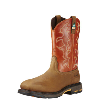 WorkHog Wide Square Toe CSA Composite Toe Work Boot