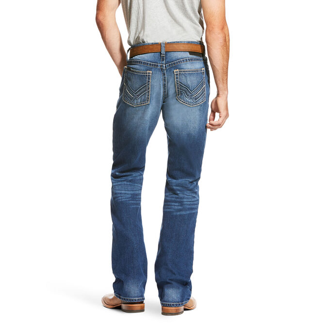 M4 Low Rise Squadron Stretch Boot Cut Jean