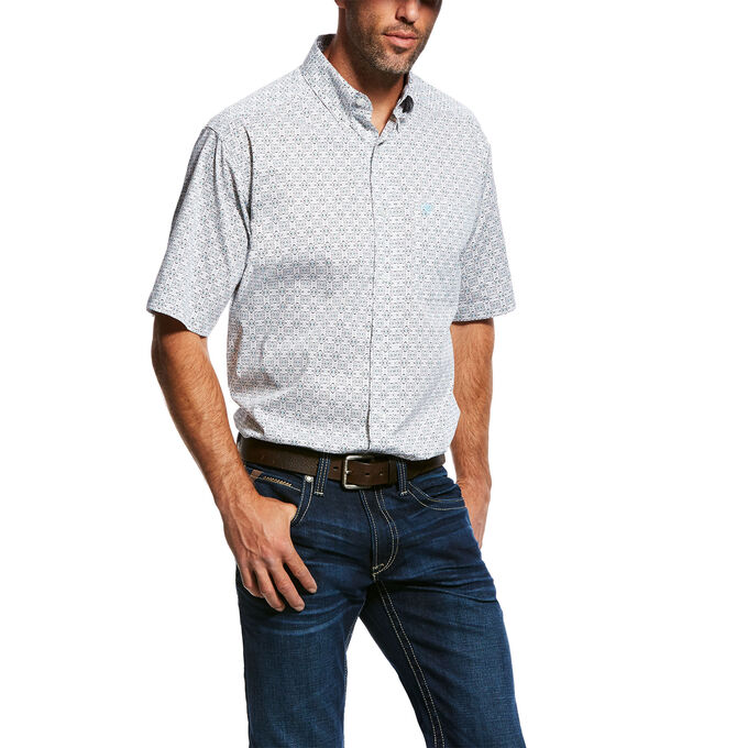 Midwood SS Stretch Print Shirt
