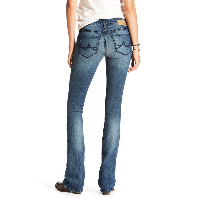Ultra Stretch Satin Stitch Demi Boot Cut Jean