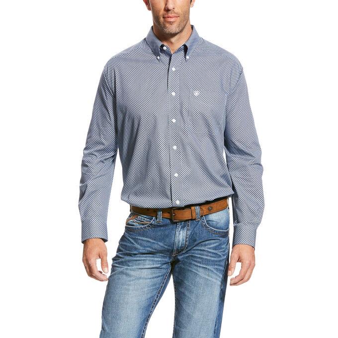 Wrinkle Free Quarterman Shirt