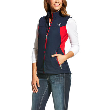 New Team Softshell Logo Vest