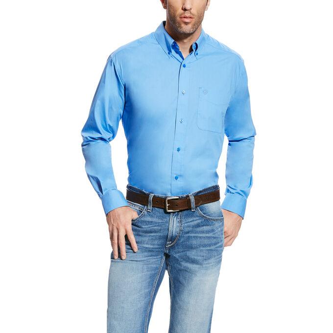 Solid Poplin Shirt