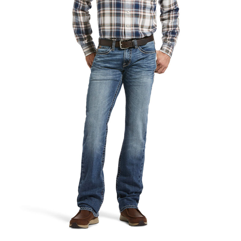 M7 Rocker Stretch Antonio Stackable Straight Leg Jean