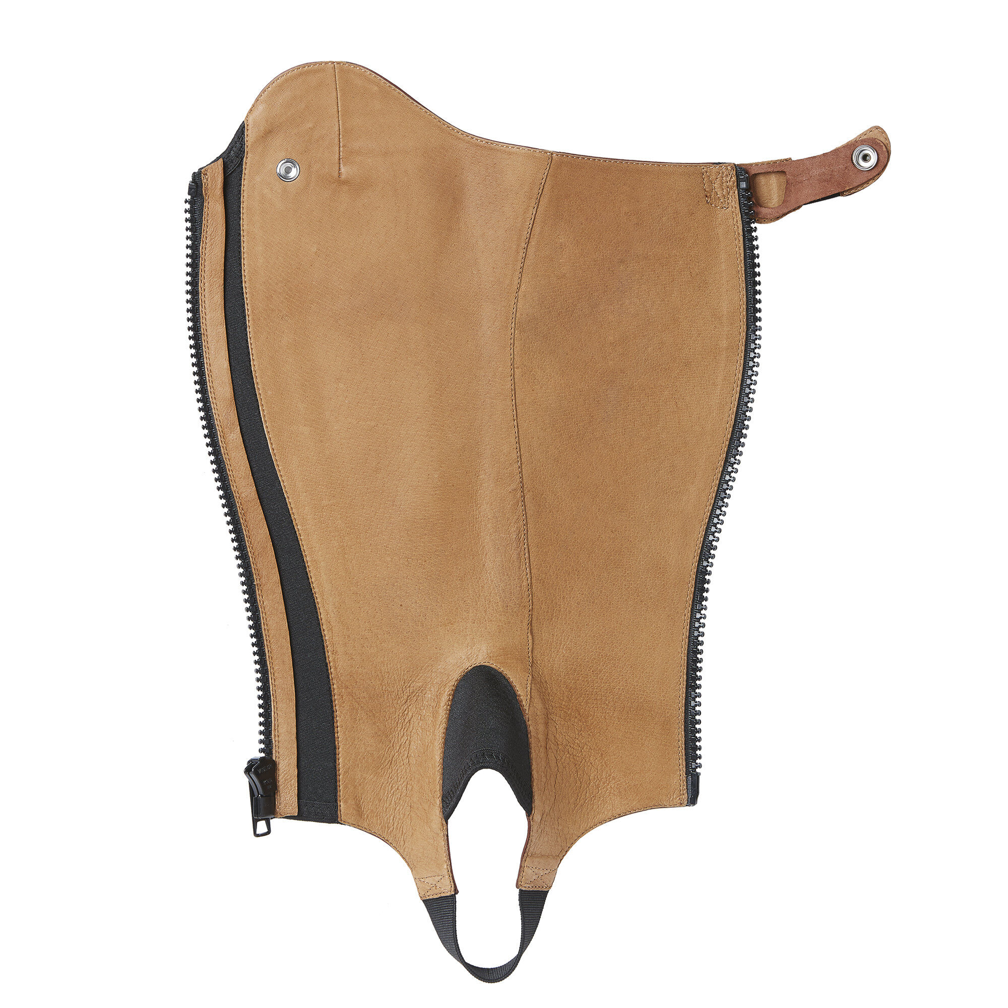 Ariat Close Contour Show Chaps, Cognac, St