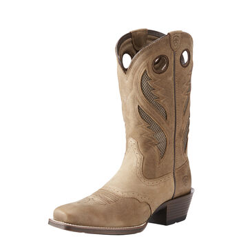 VentTEK Ultra Narrow Square Toe Western Boot