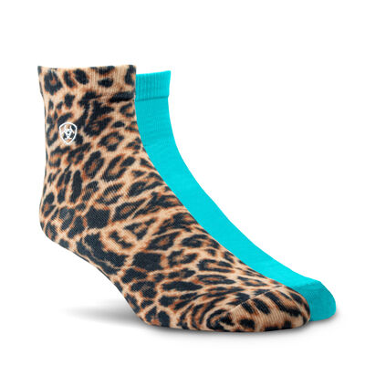 Wild Thing Ankle Sock 2 Pair Multi Color Pack