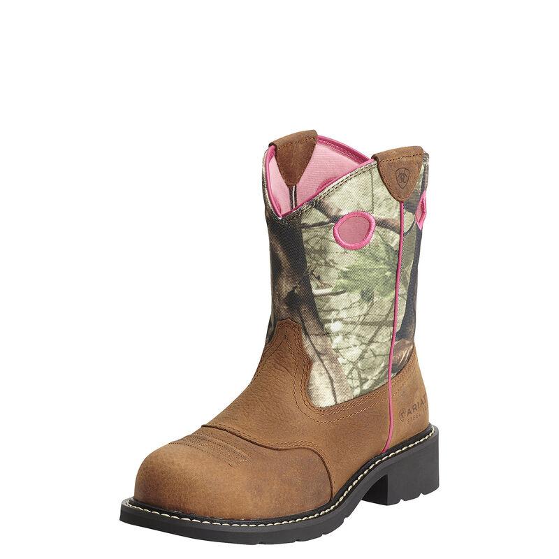 Fatbaby Cowgirl Steel Toe Work Boot