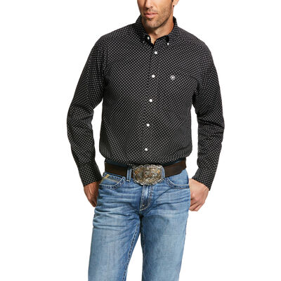 Orchard Print Stretch Classic Fit Shirt