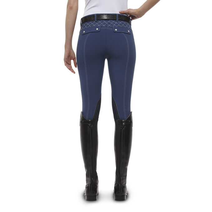 Olympia Marquis KP FZ Front Zip Knee Patch Breech