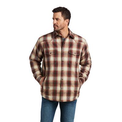 Retro Harley Insulated Shirt Jacket