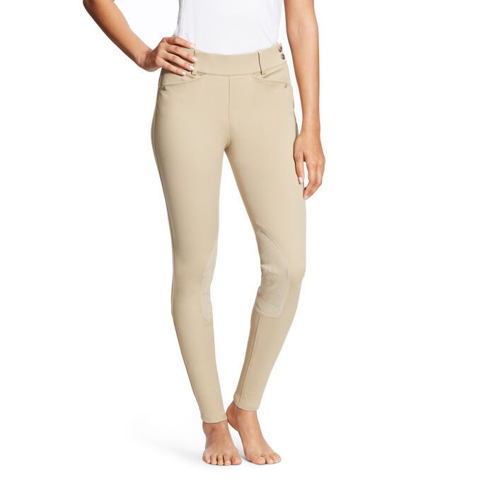 Heritage Side Zip Knee Patch Breech