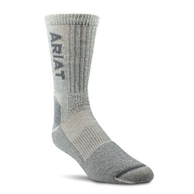 Lightweight Merino Wool Blend Steel Toe Work Sock